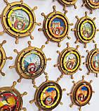 """Штурвал с иллюминатором """"Одесский морской вокзал"""", фото 3"""