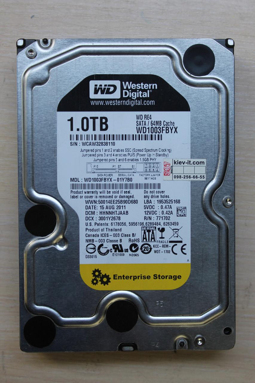 "Жесткий диск Western Digital WD1003FBYX 1TB 3.5"" Б\У ""Over-Stock"""