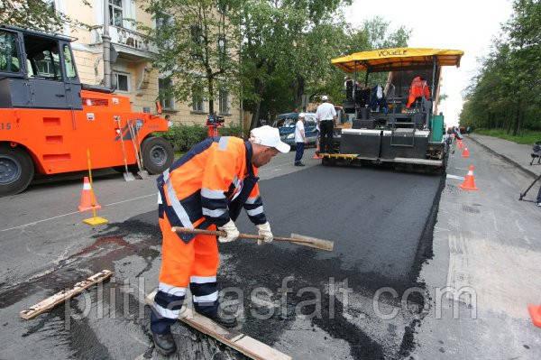 Асфальтирование Вышгород. Укладка асфальта, ремонт дорог Киев и область.