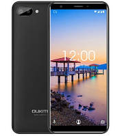 "Смартфон Oukitel C11 1/8Gb Black, 5+2/2Мп, 5.5"" IPS, 2SIM, 3G, 3400мАh, 4 ядра, MT6580"