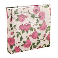 Альбом 10x15 на 200 фото Tea-rose in Box (белый)