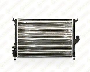 Радиатор охлаждения двигателя на Renault Logan I 2004->2012 1.5dCi+1.2 16V — Thermotec - D7R050TT