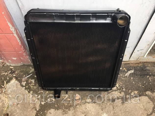 145.1301010-01 Радиатор водяого охлаждения КАМАЗ 5320 (3-х рядный) (пр-во г.Бишкек)