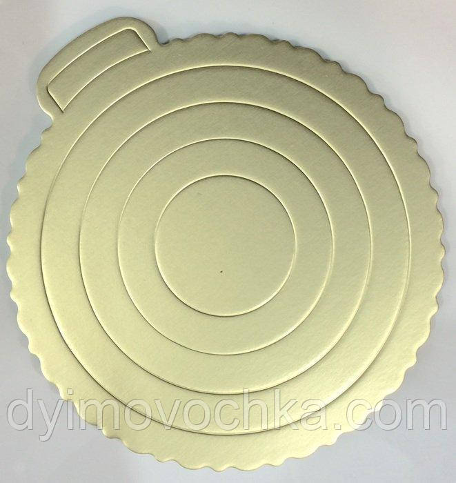 Подложка под торт круглая ЕМ 0290 Empire, Ø260 мм