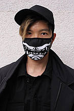 Маска для лица черная Самурай от бренда ТУР