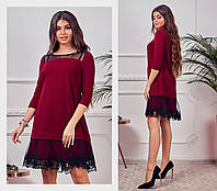 Женское стильное платье  АН298 (норма / бат)