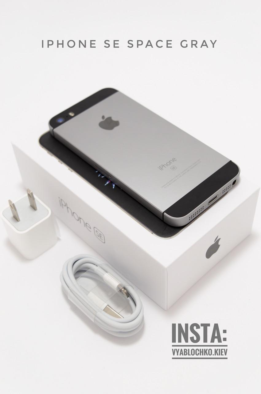Apple iPhone SE 16Gb Space Gray (Б/у)