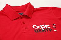 Футболка с печатью логотипа. Заказать футболку со своим логотипом типография Триада-М