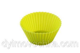 Силиконовая форма для выпечки маленького рифленого кекса Empire ЕМ 7115
