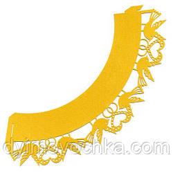 Накладка декоративная ажурная для маффинов ЕМ 0358 Empire