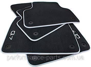 Комплект оригинальных текстильных ковриков Audi Q7 4M 4 штуки 4m1061270