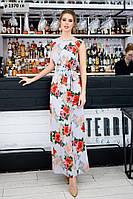 Платье с карманами в боковых швах р 1370 гл