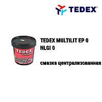 TEDEX смазка централизованных систем MULTILIT EP-0 NLGI-0 (0,9 кг)