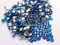 Стразы ss16 Blue Zircon AB, стекло, 1440шт. (3,8-4,0мм), фото 1
