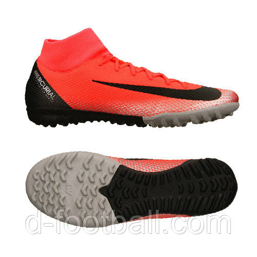 d3002358 Футбольные сороконожки Nike SuperflyX 6 Academy CR7 TF AJ3568-600, цена 2  147 грн., купить в Киеве — Prom.ua (ID#933432734)