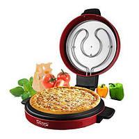 Аппарат для приготовления пиццы Pizza Maker DSP KC-1069 1800 Вт электрическая мини печь для пиццы