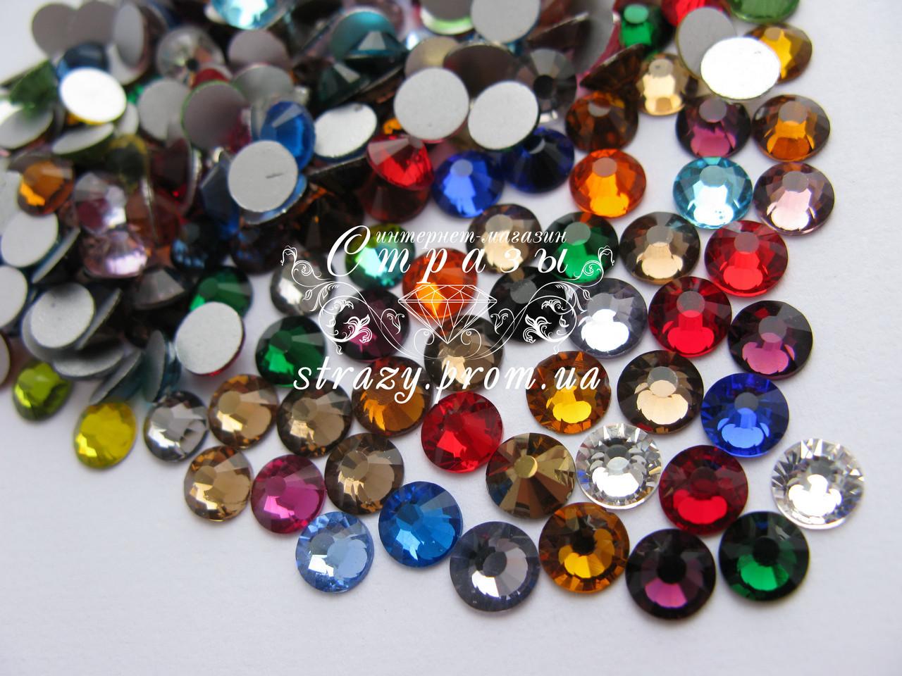 Стразы ss20 Mixed colors, 1440шт. (4,6-4,8мм)