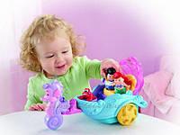 Музыкальная карета с куклами Ариэль и Эрик Fisher-Price, фото 1