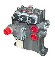 Гидрораспределитель типа Р160-3/1-111.10 с уголком для Т-156, фото 1