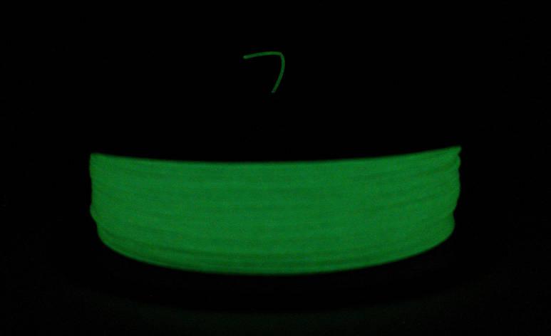 Люминесцентный (светящийся в темноте) PLA (1.75 мм/0.5 кг), фото 2