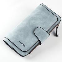 Женский вместительный кошелёк Baellerry голубого цвета опт, фото 1