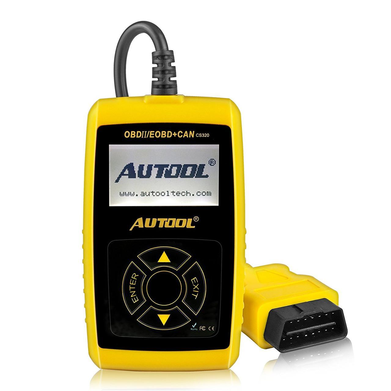 Автосканер диагностический AUTOOL CS320 (OBD2/EOBD+CAN)