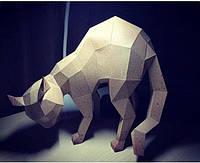 """3D фігура з паперу """"Кішка"""""""