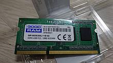 Пам'ять Sodimm GoodRam 4GB DDR3 1600Мгц для ноутбука
