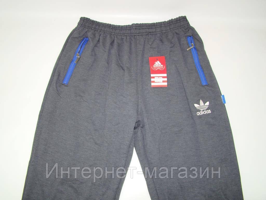 Спортивные штаны мужские Adidas на манжетах (46-50) код 6038