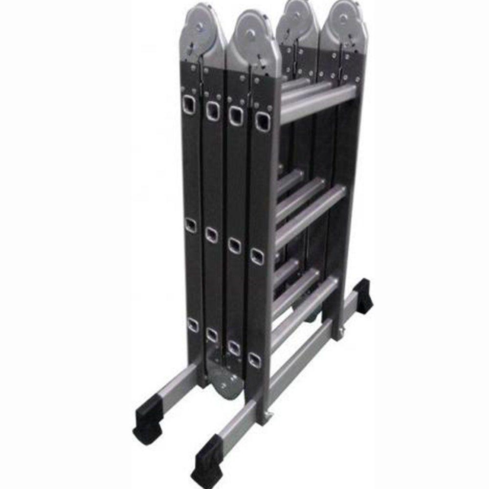 Лестница шарнирная комбинированная (металл+алюминий) Werk LC5412B