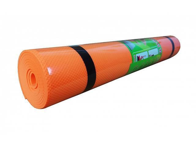 Йогамат EVA M 0380 173-60 см Оранжевый
