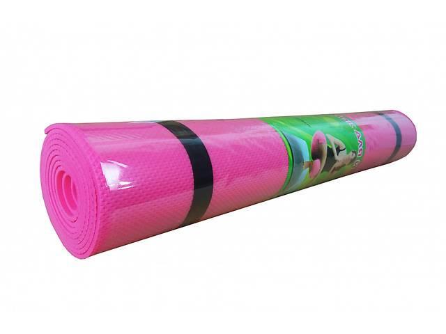 Йогамат EVA M 0380 173-60 см Розовый