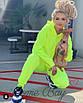 Яркий спортивный костюм с карманами кенгуру на кофте, фото 2