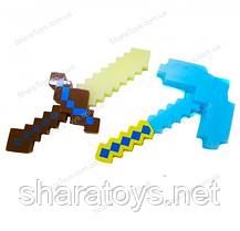 Игрушечное оружие героев Minecraft