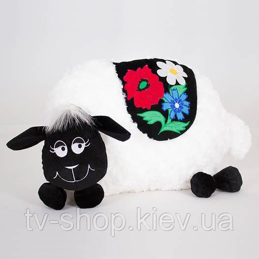 Подушка Баран вышиванка  (3 цвета)