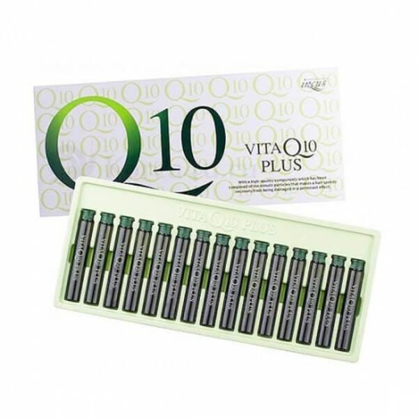 Ампули-філлери для лікування ослаблених волосся INCUS VITA Q10 Корея