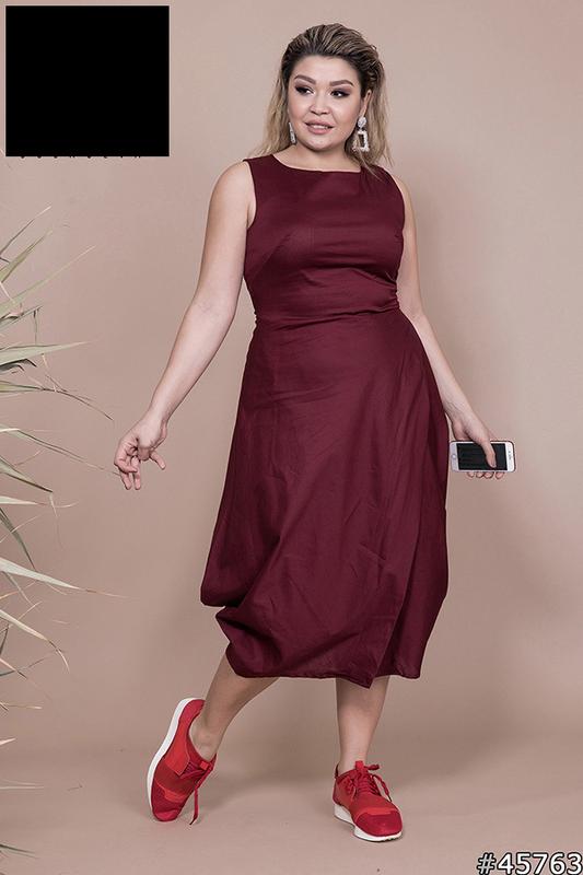 Платье летнее женское, размер:48-60