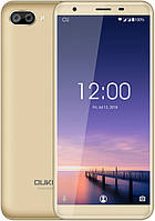 "Смартфон Oukitel C11 1/8Gb Gold, 5+2/2Мп, 5.5"" IPS, 2SIM, 3G, 3400мАh, 4 ядра, MT6580, фото 1"