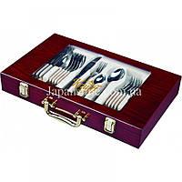 Набір столових приборів Krauff 29-189-018 Grace 24 предмета у валізі, фото 1