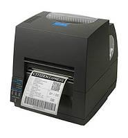 """Принтер этикеток Citizen CL-S621 200 dpi,4ips,4""""print width,5""""internal roll,Thermal transfer,Dual ZPLandDMX"""