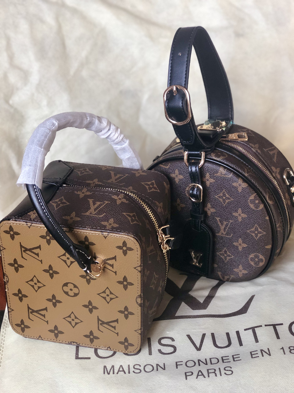 41480e561db Сумка Louis Vuitton круглая