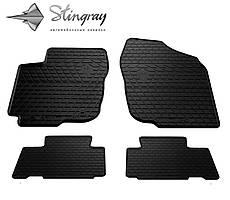 Toyota RAV 4 2013- Комплект из 4-х ковриков Черный в салон