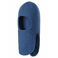 Шапка-шлем Kolo унисекс темно-голубого цвета размеры 48 зима мальчик;девочка TM Reima 518469-6790