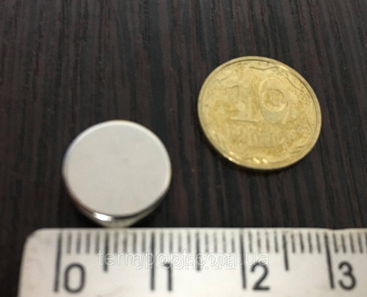 Неодимовый магнит 12 х 3 мм N42 Польша