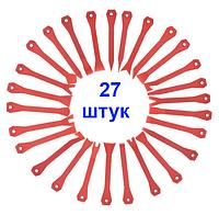Инструменты для снятия обшивки (облицовки) авто (27 шт).