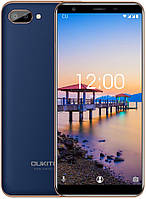 "Смартфон Oukitel C11 1/8Gb Blue, 5+2/2Мп, 5.5"" IPS, 2SIM, 3G, 3400мАh, 4 ядра, MT6580, фото 1"