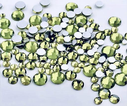 Стразы olive микс, 720шт, фото 2