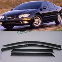Дефлекторы окон (ветровики) Chrysler 300M Sd 1998-2004 (Крайслер 300М) Cobra Tuning