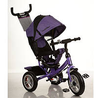 Детский трехколесный велосипед M 3113-8A Turbo Trike, фиолетовый
