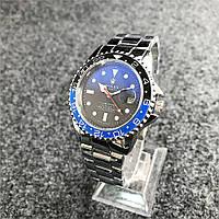 Наручные мужские часы Rolex Submariner 6478 Silver-Black-Blue-Black, фото 1